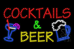 LED Beer Signs