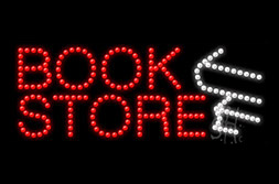 LED Books Signs