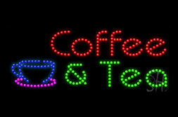 LED Coffee Signs