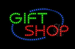 LED Flowers & Gifts Signs