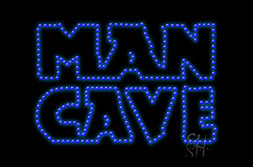 LED Man Cave Signs