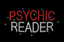 LED Psychic Signs