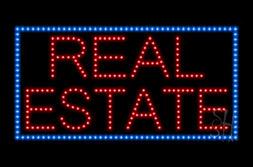 LED Real Estate Signs