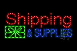 LED Shipping Signs