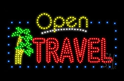 LED Travel Signs