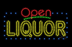 LED Alcohol Signs
